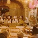 Kirtan in Harimandir Sahib