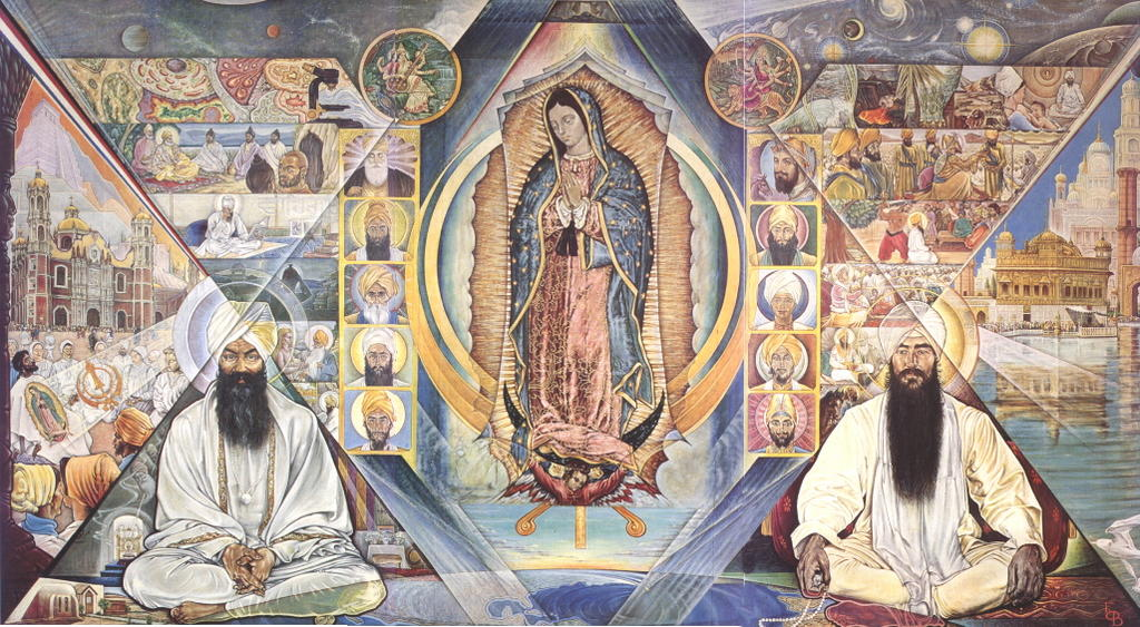 Mural (Fresco) by the Late Ed O'Brien
