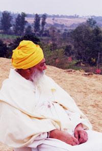 Yogi Bhajan in Anandpur Sahib