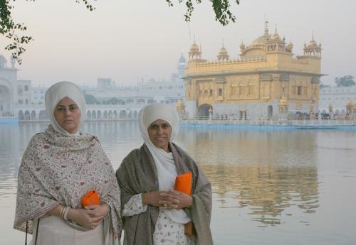 Bibiji and Daughter Kamaljit Kaur