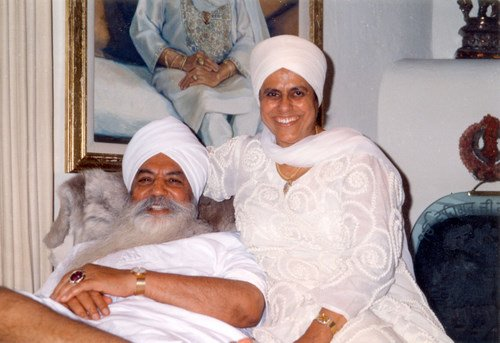 Bibiji and Yogi Bhajan