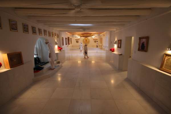 Picture of the Gurdwara after it is cleared out and cleaned