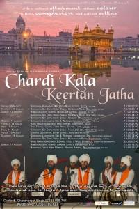 Chardikala England Tour Schedule