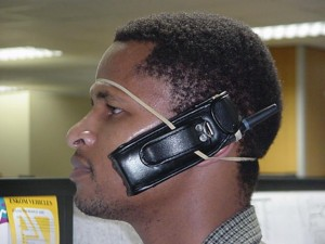 hands free headset