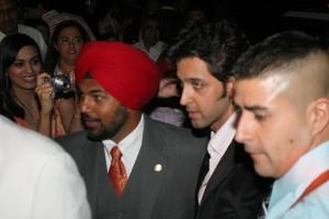 Hrithik Roshan Arriving