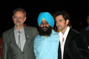 Tejinder Singh and Hrithik Roshan