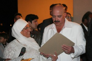 Bibiji Inderjit Kaur with Rakesh Roshan