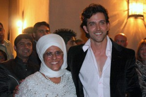 Bibiji Inderjit Kaur and Hrithik Roshan
