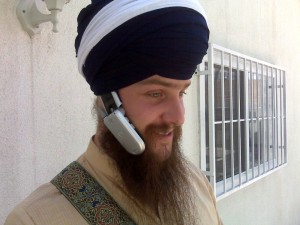 The Sikh Version of the Hands Free Headset