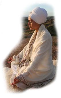 Spine Straight with Good Meditative Posture