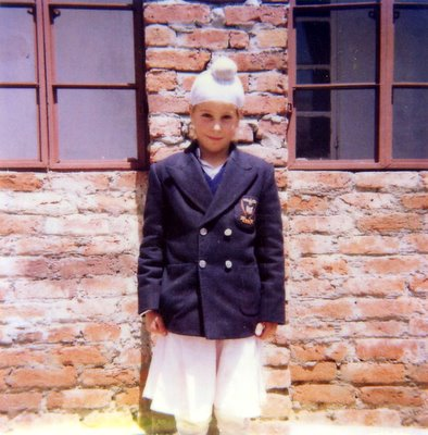 My first year in Boarding School in GNFC school in Mussoorie India