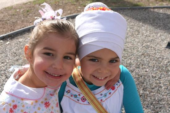 Charanjeet Kaur and her Friend Siri Adi Kaur