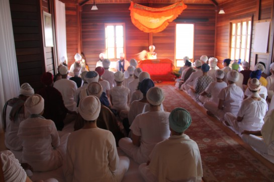 Gurdwara in Brazil