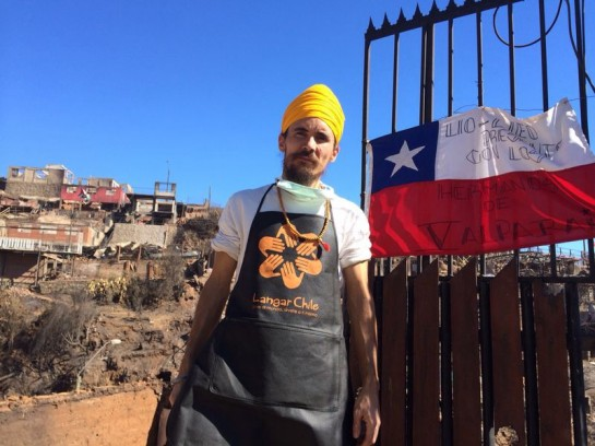 """Langar Chile"" a seva group that serves the hungry in and around Chile"