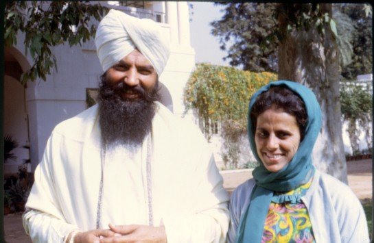 Yogi Bhajan with Bibiji