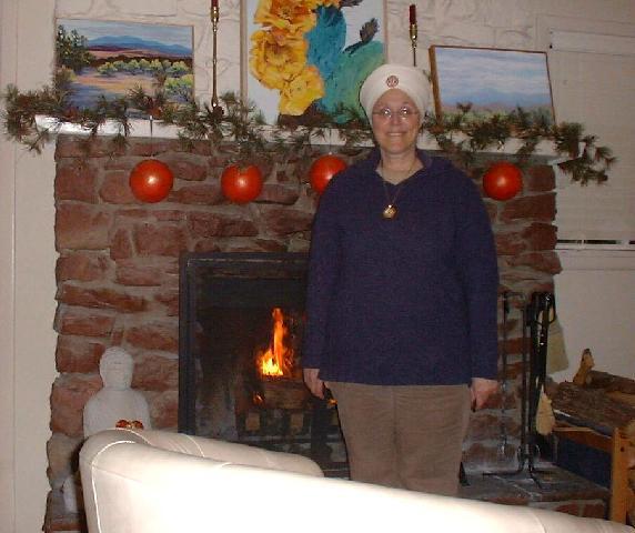 Guruka Kaur Cozy By the Fire